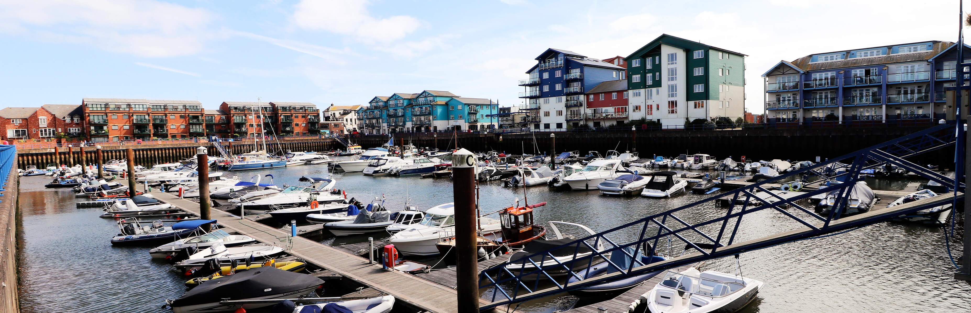 planning applications image of boats docked at the waterside